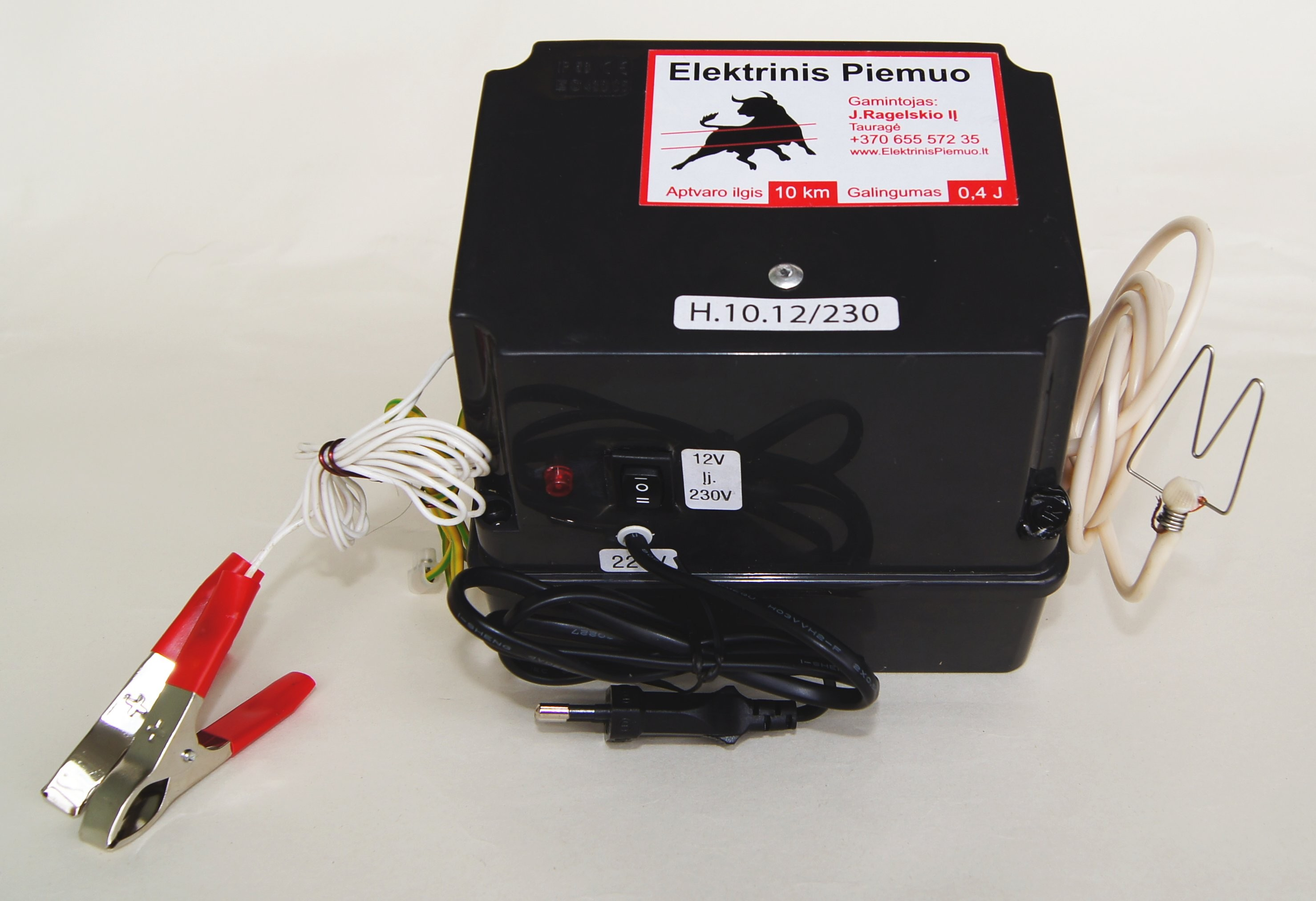 01 006 Electric shepherd device 10H – impuls generator – 10.12/230 H (universal)
