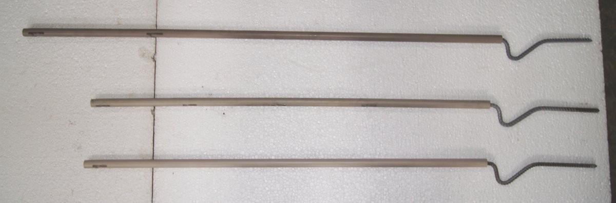 08 001 Plastikinis kuoliukas 1 pjūvio, standartinis 95 cm.